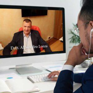 Alessandro Lonza videoconferenza consulenza