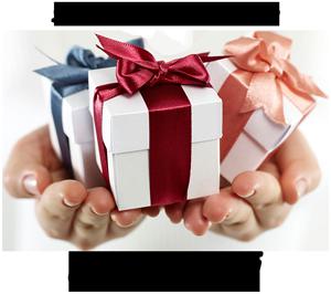 scegli il tuo regalo