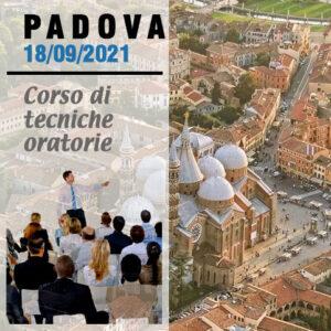 Padova tecniche oratorie